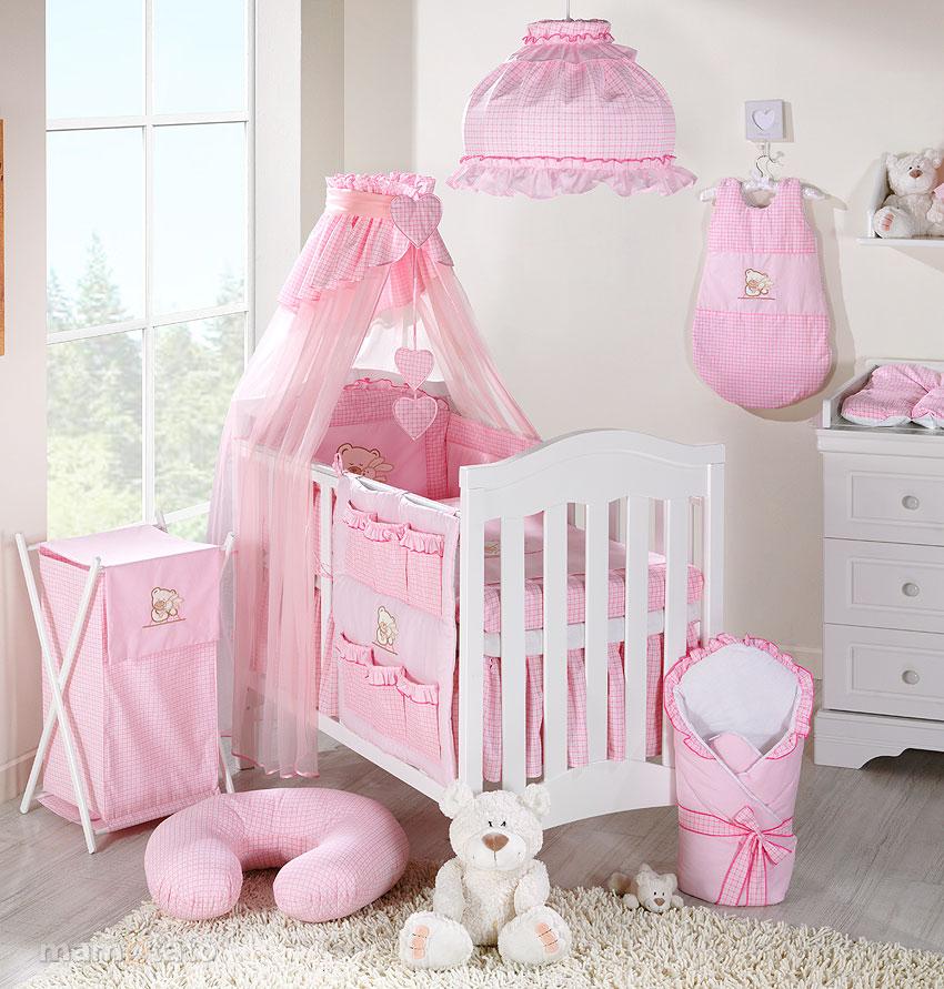 my sweet baby lit b b matelas set complet set xxl de 14 pi ces choix couleurs ebay. Black Bedroom Furniture Sets. Home Design Ideas
