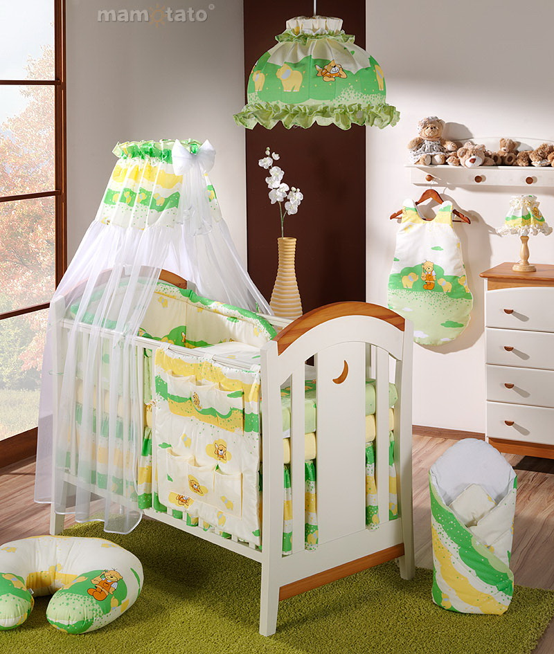 baby bettw sche bettset klassik d 5 tlg f r kinderbett 70x140 chiffonhimmel ebay. Black Bedroom Furniture Sets. Home Design Ideas